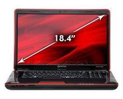 Ноутбук Toshiba QOSMIO X505-Q830